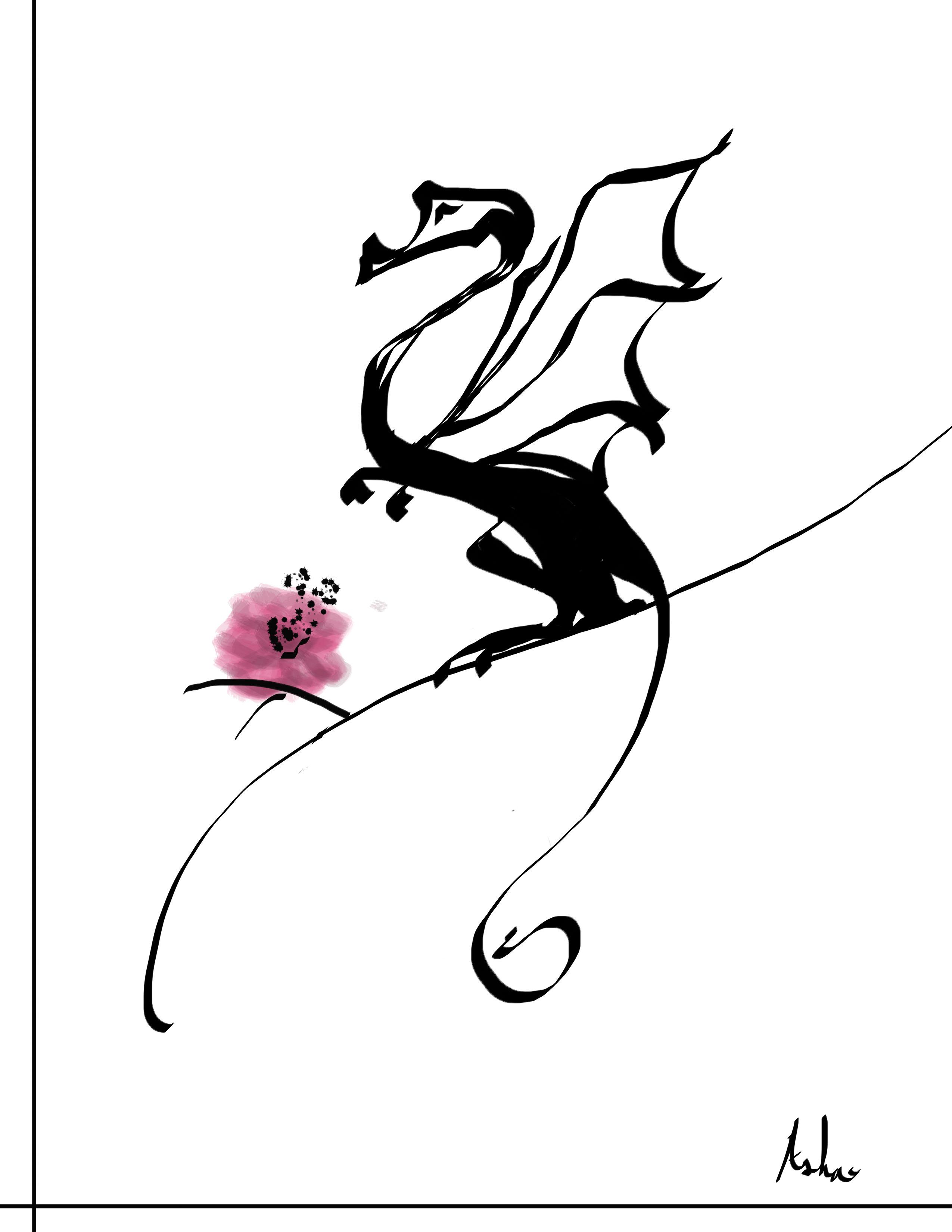 small_dragon_flower_framed.jpg