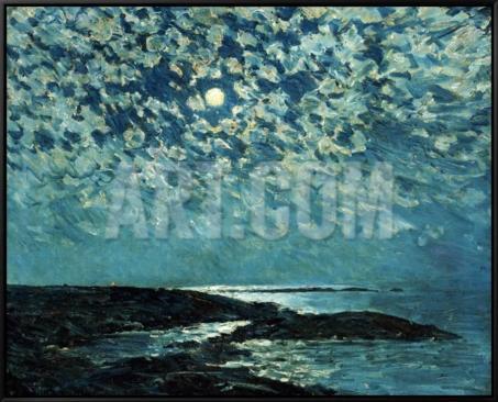 childe-hassam-moonlight-isle-of-shoals