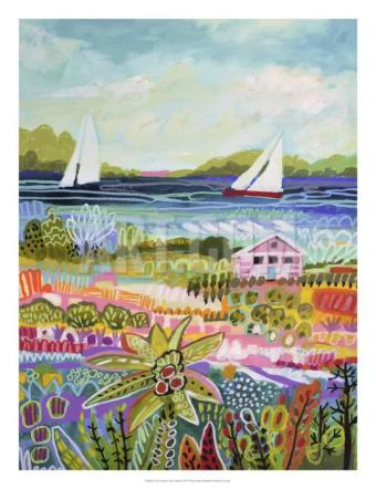 karen-fields-two-sailboats-and-cottage-i_a-g
